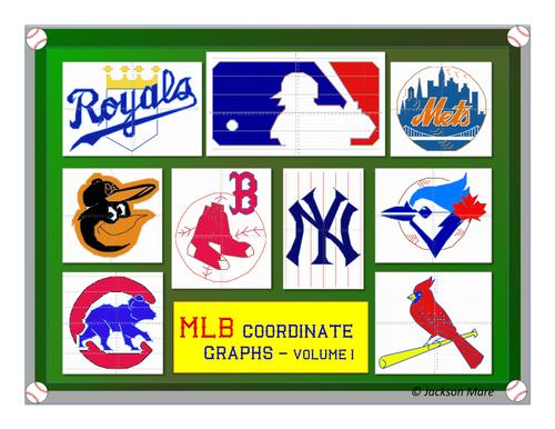 Major League Baseball (MLB) Coordinate Graphs