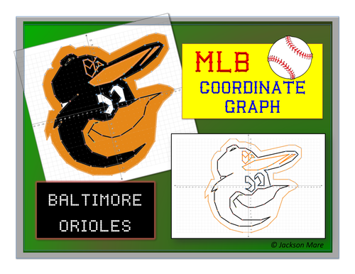 Baltimore Orioles - MLB Coordinate Graph