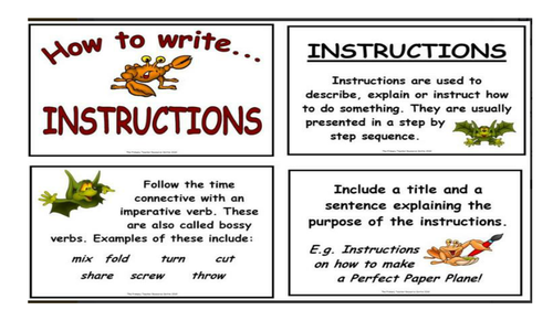 Instructions lesson jam sandwich by tp 1986 teaching for Net making instructions