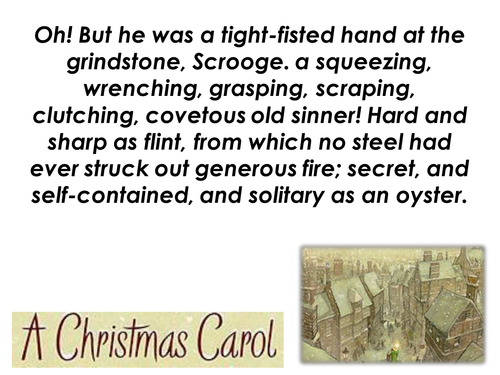 a christmas carol quotations display by rebeccagriffiths teaching resources tes
