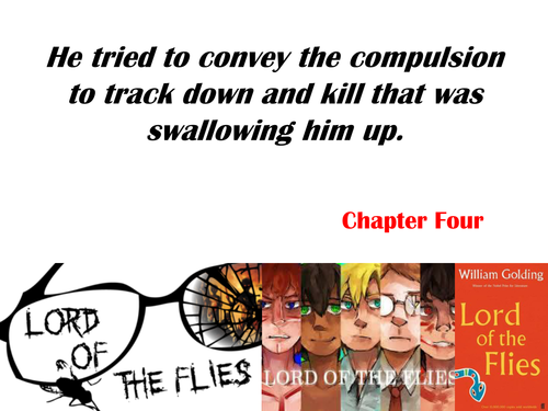 Lord of the Flies quotations display