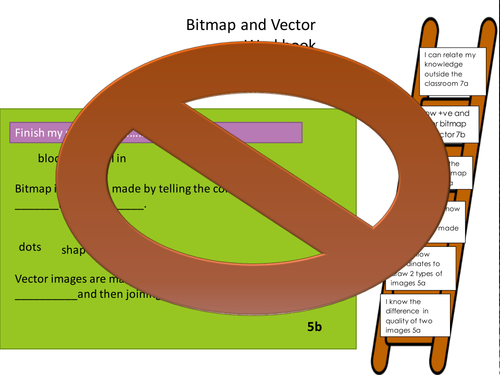 Vector and Bitmap Images OUTSTANDING FULL LESSON