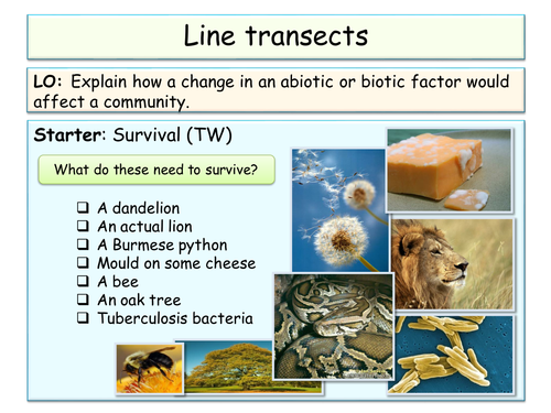 NEW AQA SOW - B2 - Classifcaion and ecology
