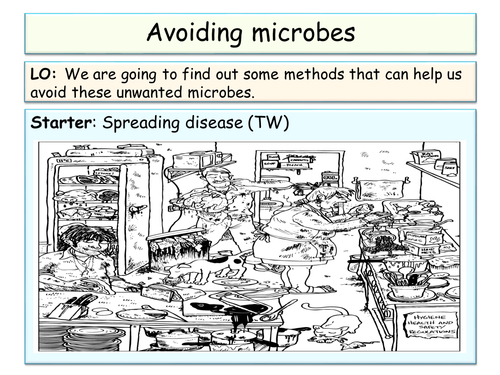 Year 8 - Microbes topic SOW