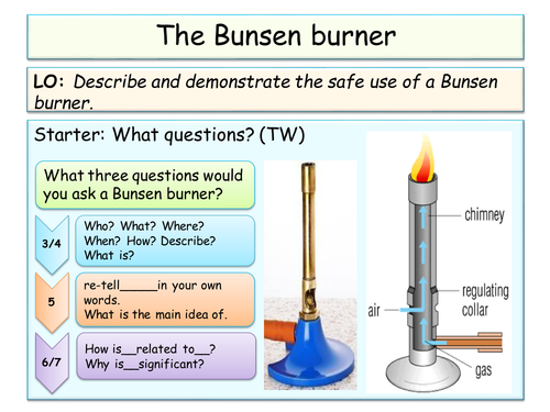 NEW year 7 SOL introduction to science lesson plans