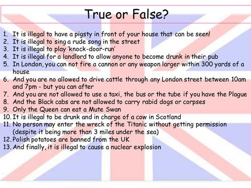 PSHE - Being British