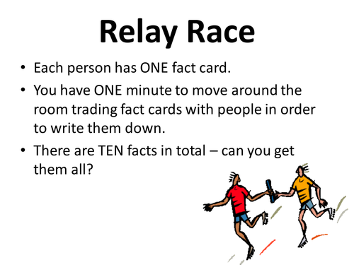 Relay Race - DIFFERENTIATION