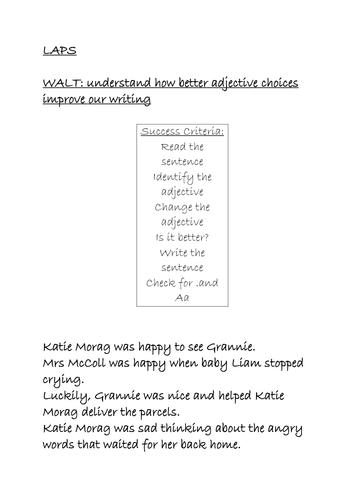 Katie Morag Narrative English Unit of Work