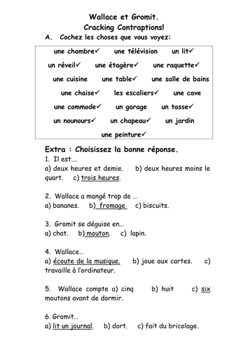 reading comprehension about brain drain by redouanamghar french teaching resources furniture rooms revision wallace