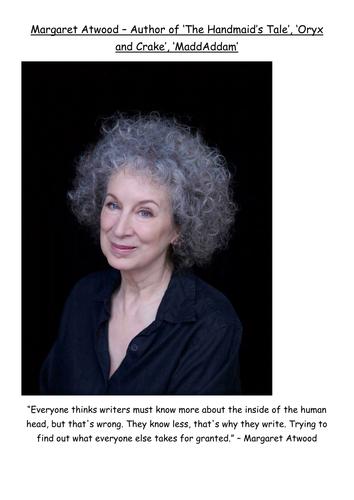 Female authors display
