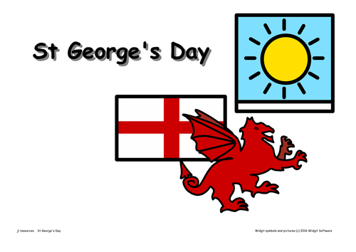 St George's Day Posters
