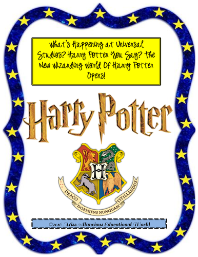 Informational Text for Close Reading: Wizarding World of Harry Potter