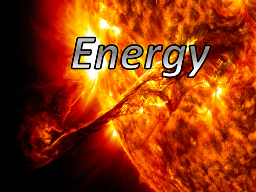 Energy - Forms, Transformation & Transfer