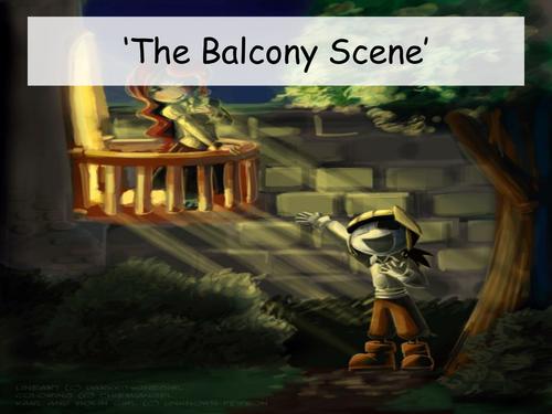 Analysis of 'The Balcony Scene' in Romeo and Juliet