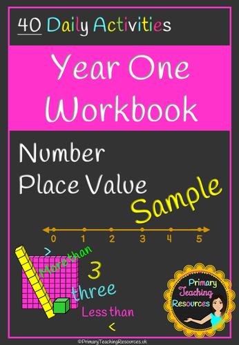 Year One Maths Workbook (Free Sample)
