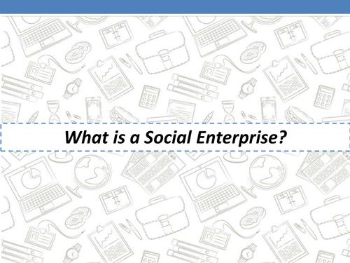 GCSE Social Enterprise Lessons