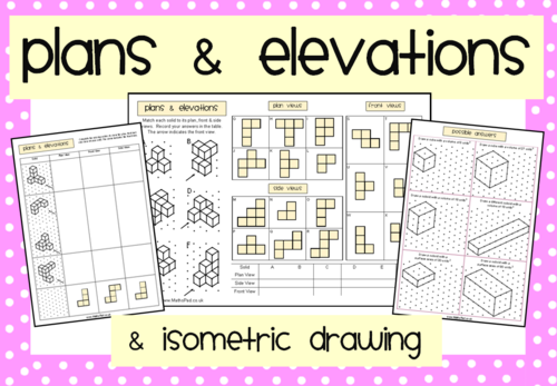 Plan Elevation Tes : Mathspad s shop teaching resources tes