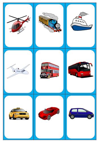 Flashcards for activities, SEN, KS1, KS2, EAL, Nurture