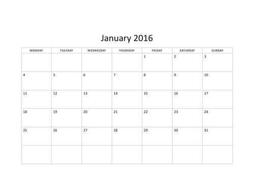 Using a Calendar Task