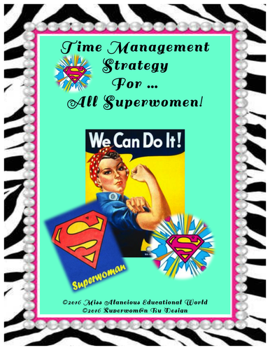 Time Management Strategy for All Super Teachers!
