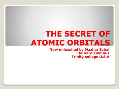 True orbitals