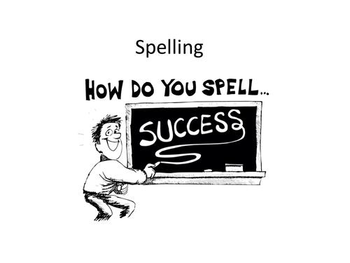 GCSE English - Spelling Explained