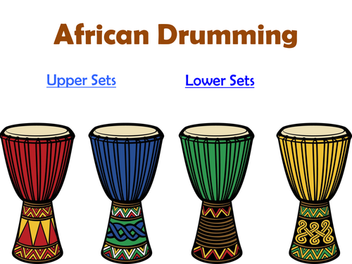 African Drumming Patterns For Class Ensembles By NGfLCymru