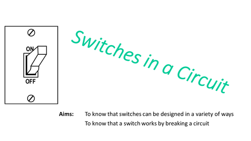 Year 4: Electricity (Switches in a Circuit)