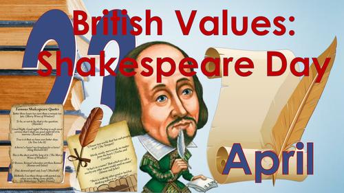 Remembering Shakespeare: Shakespeare Day (April 23 2016)