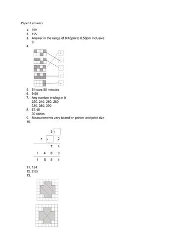 Rewritten KS2 Reasoning paper 2 SATs 2016 by natt5253