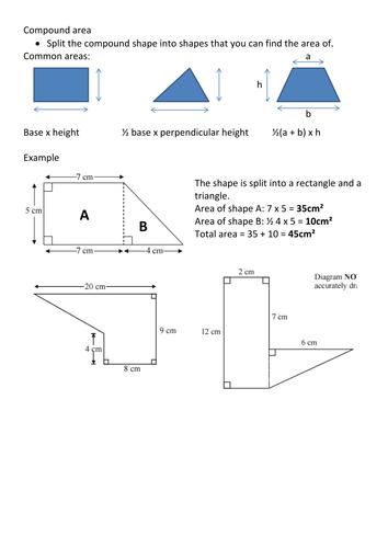 gcse 2d and 3d shapes perimeter and area resources tes. Black Bedroom Furniture Sets. Home Design Ideas