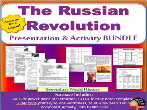 Russian Revolution Powerpoint By Groovingup Teaching Resources Tes