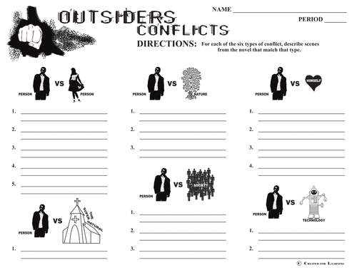 the outsiders by s e hinton by uk teaching resources tes. Black Bedroom Furniture Sets. Home Design Ideas