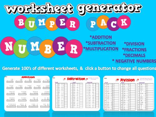 Division Worksheets Division Worksheets Generator Preschool – Division Facts Worksheet Generator