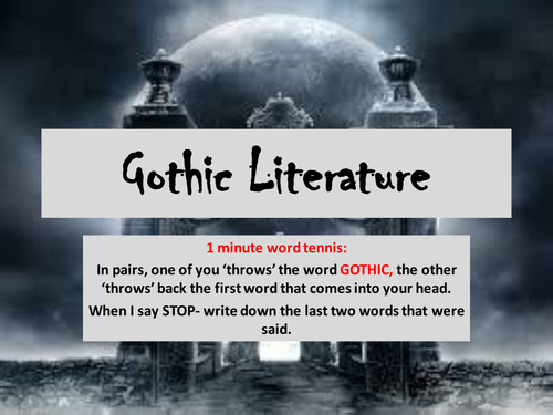 Introduction to Gothic Themes.