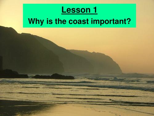Coasts - KS3