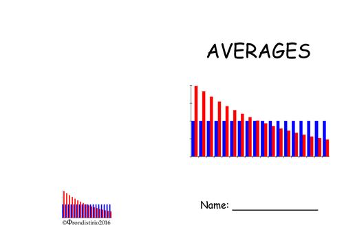 Averages revision booklet
