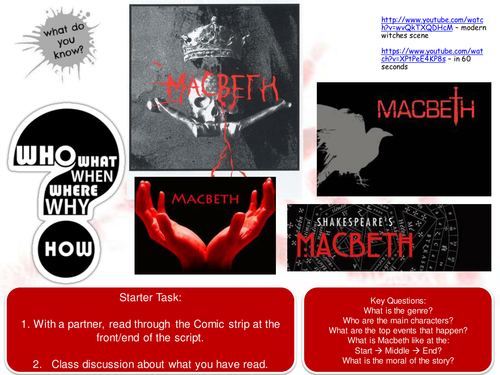 Gcse coursework on macbeth