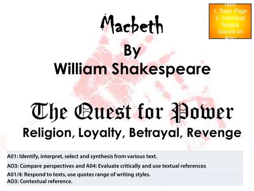 HELP PlEASE COURSEWORK??? English macbeth?