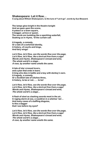 Smugglers Song by Rudyard Kipling Class Play by suesplays