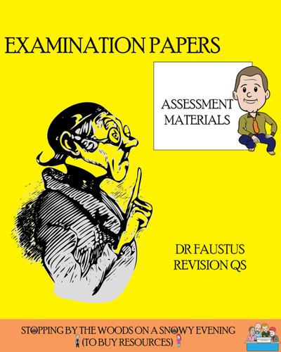 Dr Faustus Exam-style Questions
