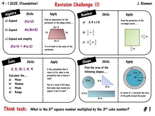 GCSE Maths Resources – Free Gcse Maths Worksheets