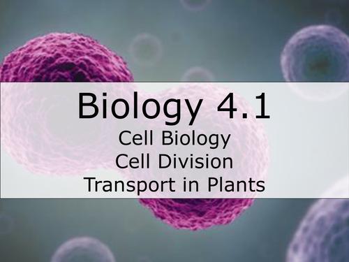 AQA Biology B4.1 Revision resource