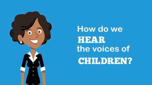 How do we hear the voices of children?
