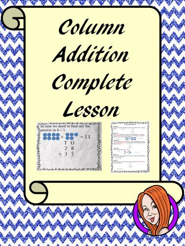 Addition Column Method - Complete Lesson