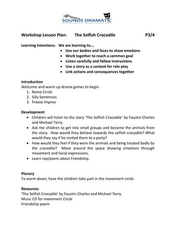 2 Sessions drama workshops - Friendship