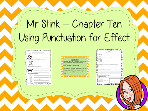 Punctuation for Effect  – Mr Stink