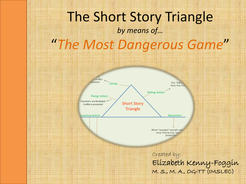 Know The Code The Most Dangerous Game By Richard Connell By
