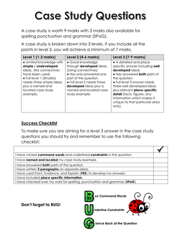 AQA GCSE Geography A Physical Case Studies by Stephen           SP ZOZ   ukowo        GCSE Geography Case Study