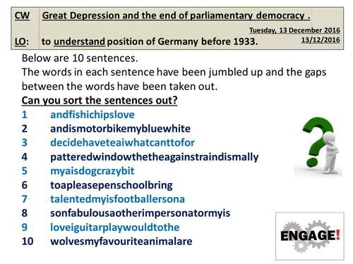 Nazi Germany: Great Depression and the end of parliamentary democracy